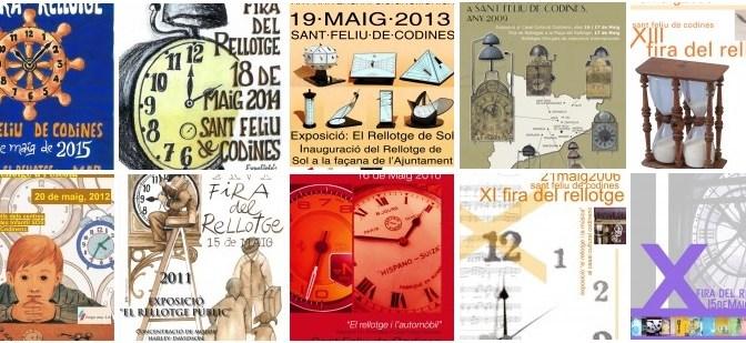Amb la propera seran ja 23 edicions de la Fira del Rellotge de Catalunya