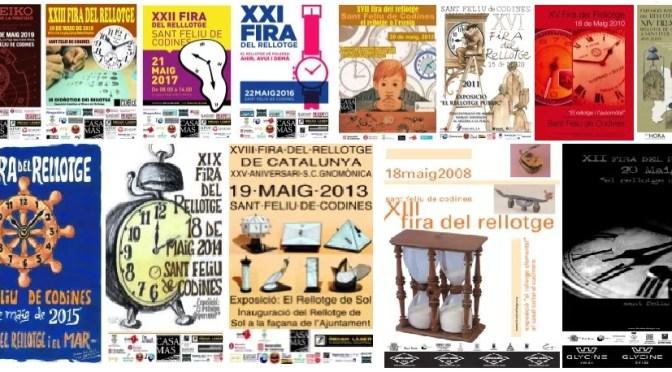 Amb la propera seran ja 24 edicions de la Fira del Rellotge de Catalunya