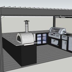 How To Make An Outdoor Kitchen Cabinet Company Design 1