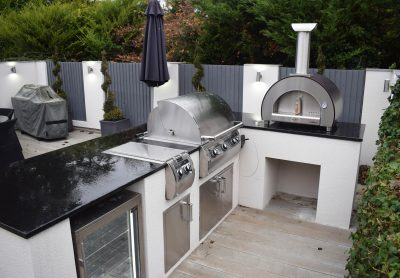 outdoor kitchen oven ikea rugs fire magic kitchens modern with pizza