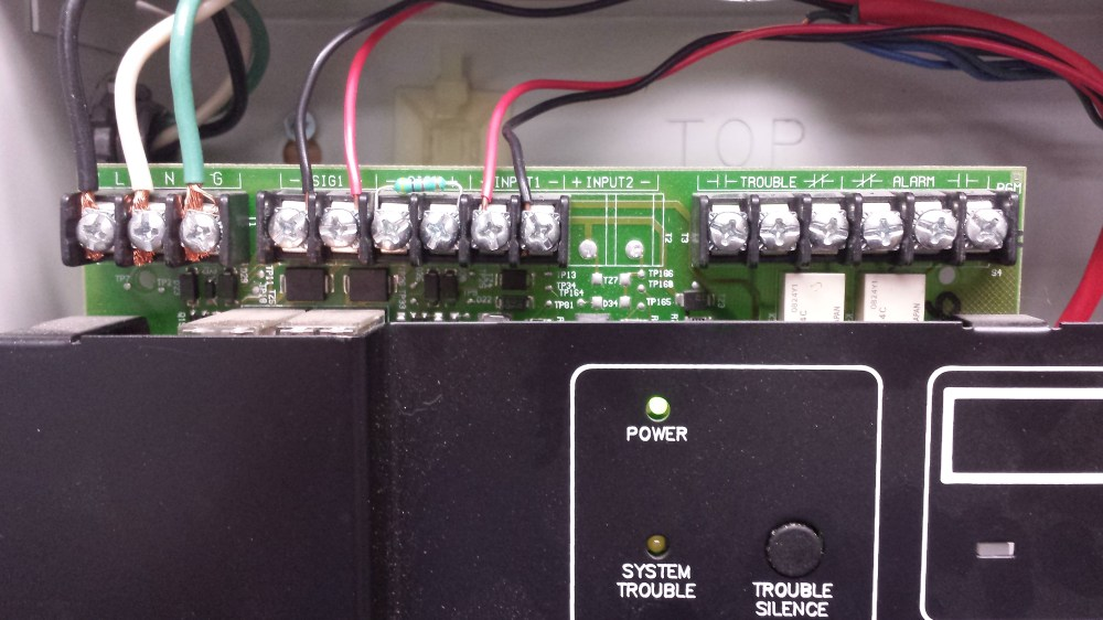 medium resolution of alarm contacts in a fire alarm monitoring panel inputs