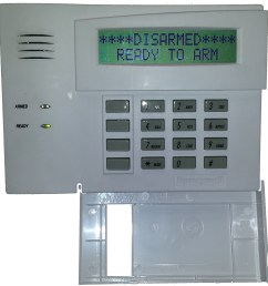 honeywell vista security alarm system keypad [ 2163 x 2213 Pixel ]