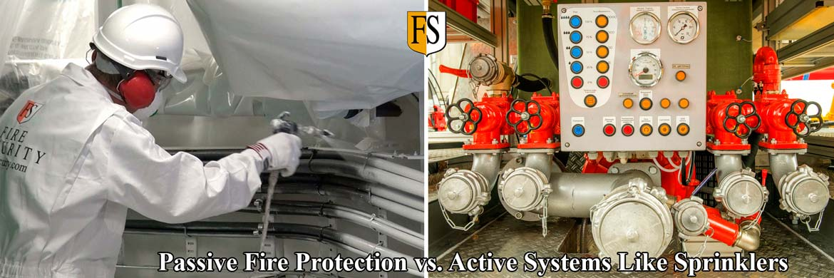 Passive Fire Protection vs Active Systems  Fire Security