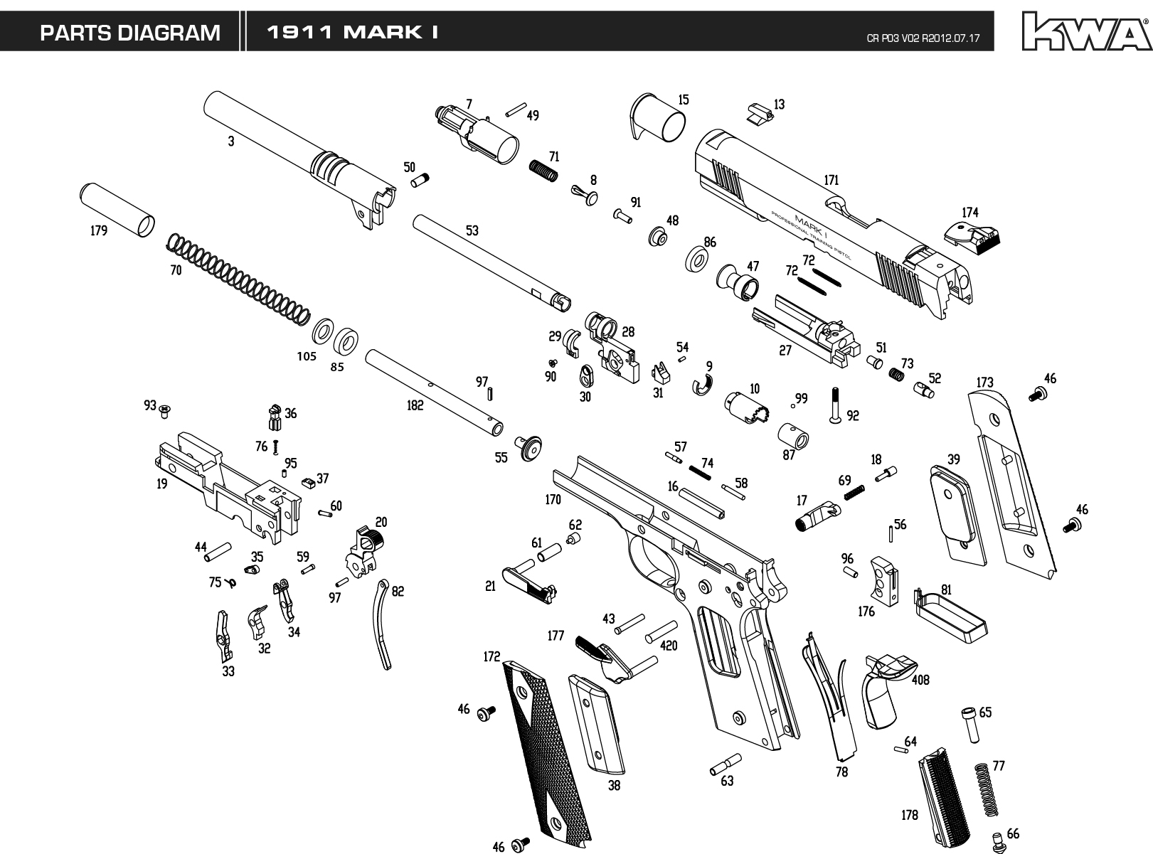 Kwa Gun Manual Mark I