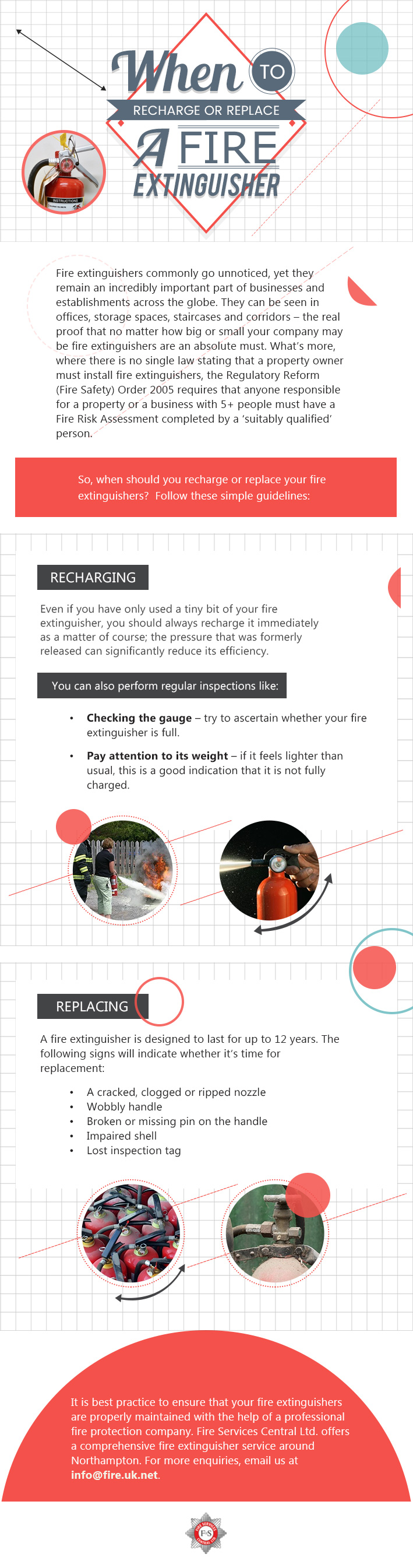 When to Replace or Recharge a Fire Extinguisher