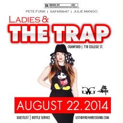 Ladies&Trap-AUG 22 Crawford