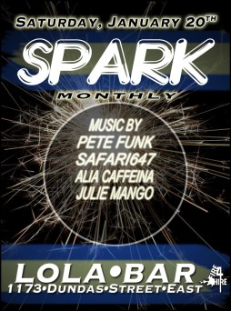 Spark Lola Monthly Fire 4 Hire