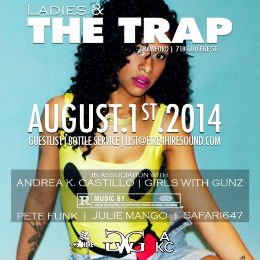 Ladies & The Trap Andrea K. Castillo Girls With Gunz Caribana