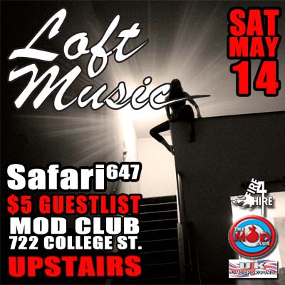 The Mod Club May 14