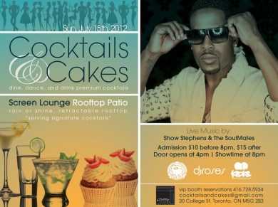 COCKTAILS & CAKE SCREEN LOUNGE