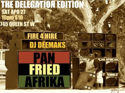 Pan Fried Afrika Delegate Edition Harlem Underground