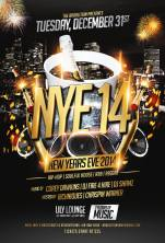 New Years Eve 14 Lily lounge 656 College St. Toronto Fire 4 Hire Broalition Army Corey Dawkins DJ Shamz Richniques Chrispin Warner Hip Hop R&B Soulful House Reggae