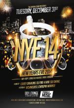 New Years Eve 14 Lily lounge 656 College St. Toronto Fire 4 Hire Broalition Army Corey Dawkins DJ Shamz Richniques Chrispin Warner Hip Hop R&B Soulful House Reggae