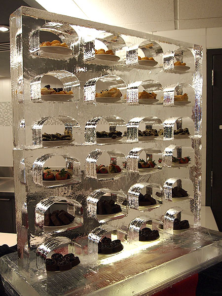 Fire  Ice Creations  Gallery  Functional  Food Display