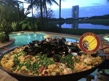 fire rice paella naples