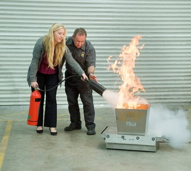 Fire Extinguisher Training  Fire and Safety Australia