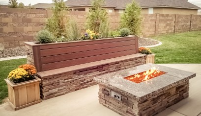 A fire pit from Fire & Water can warm up any moment.