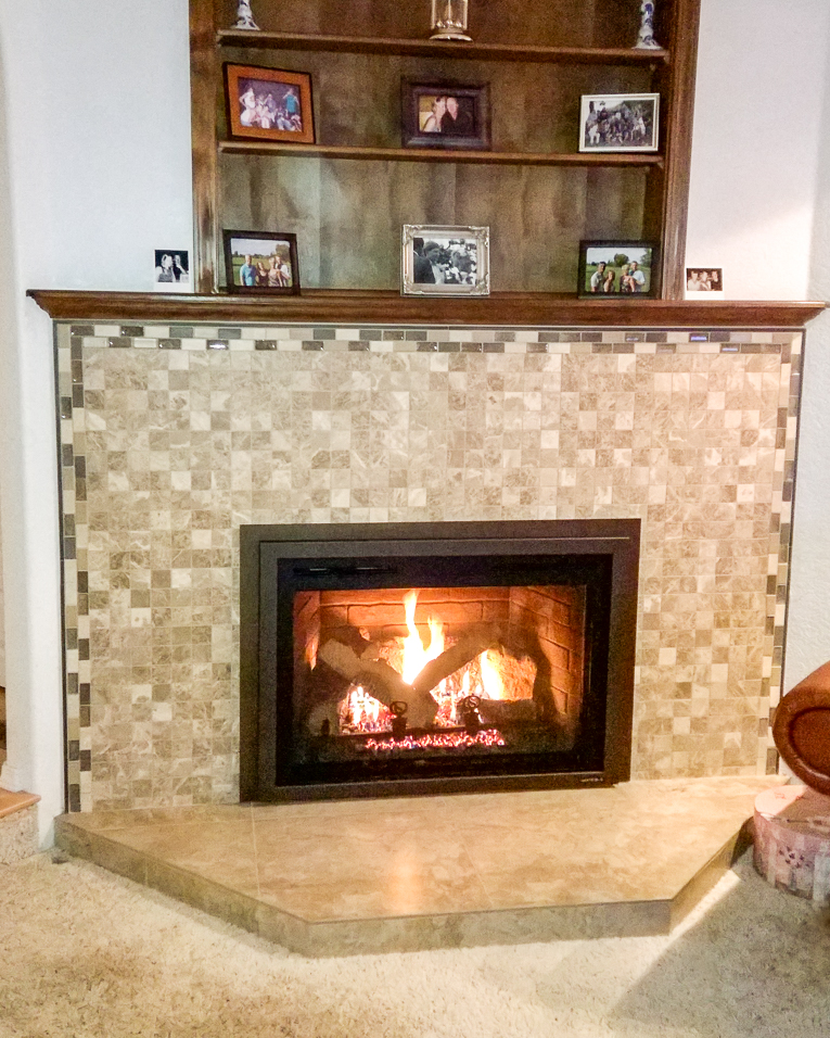 fireplaces tile image brick remodels option over top fireplace