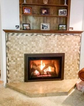 Fireplace Insert After