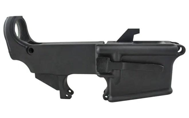 80% Lower AR9 80% pistol caliber carbine lower