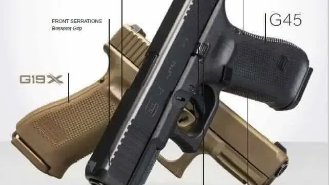 Glock 45 Gen5 Glock 17 Mos Leaked Black Glock 19x Firearm Rack