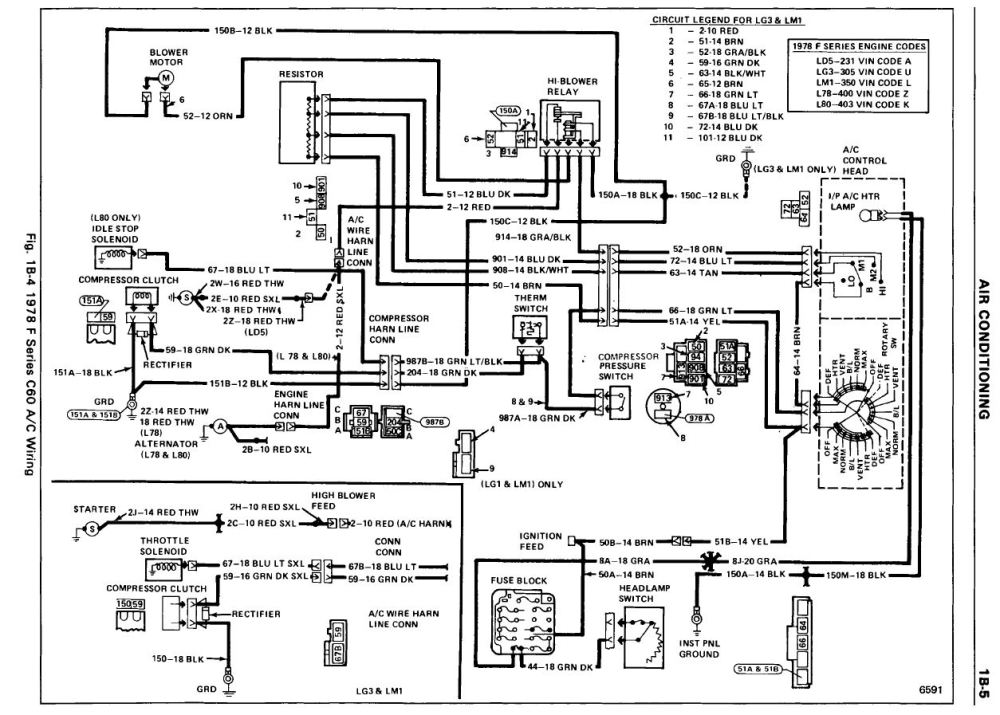 medium resolution of pontiac 400 1979 trans am wire diagram wiring schematic diagrama c wiring diagram and a c blower