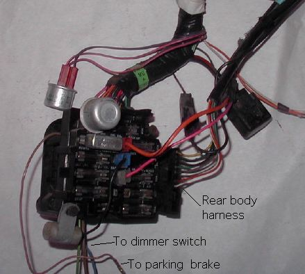 1964 Chevy Turn Signal Wiring Diagram Basic Wiring Harnesses For 1977 81 Trans Ams