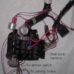 Car Air Horn Wiring Diagram Sunpro Drag N Tach Basic Harnesses For 1977 81 Trans Ams 101