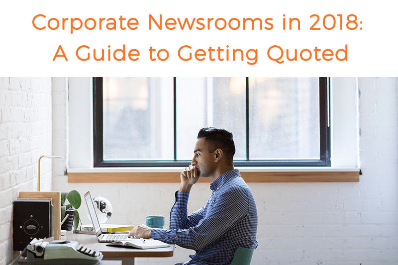 Corporate Newsrooms