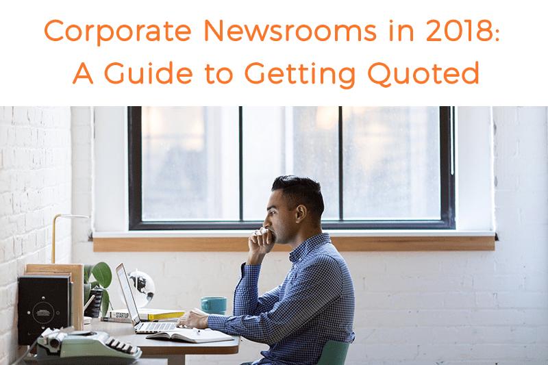 Corporate Newsrooms