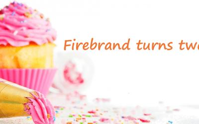 Firebrand turns two