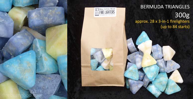 Deluxe Firelighters - Bermuda Triangles