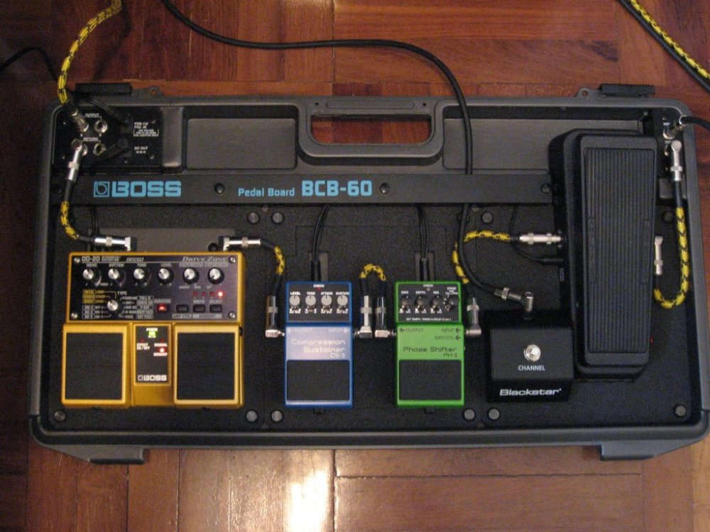 medium resolution of and then later on i added a bcb 30 pedal box to run in the effects loop of my blackstar ht 5