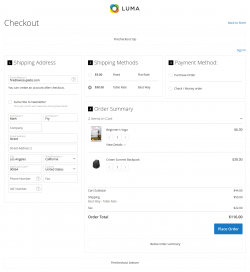 Magento 1 & Magento 2 One Page Checkout Extension