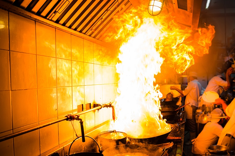 THE BIGGEST KITCHEN FIRE SAFETY RISKS  Fire Control Systems