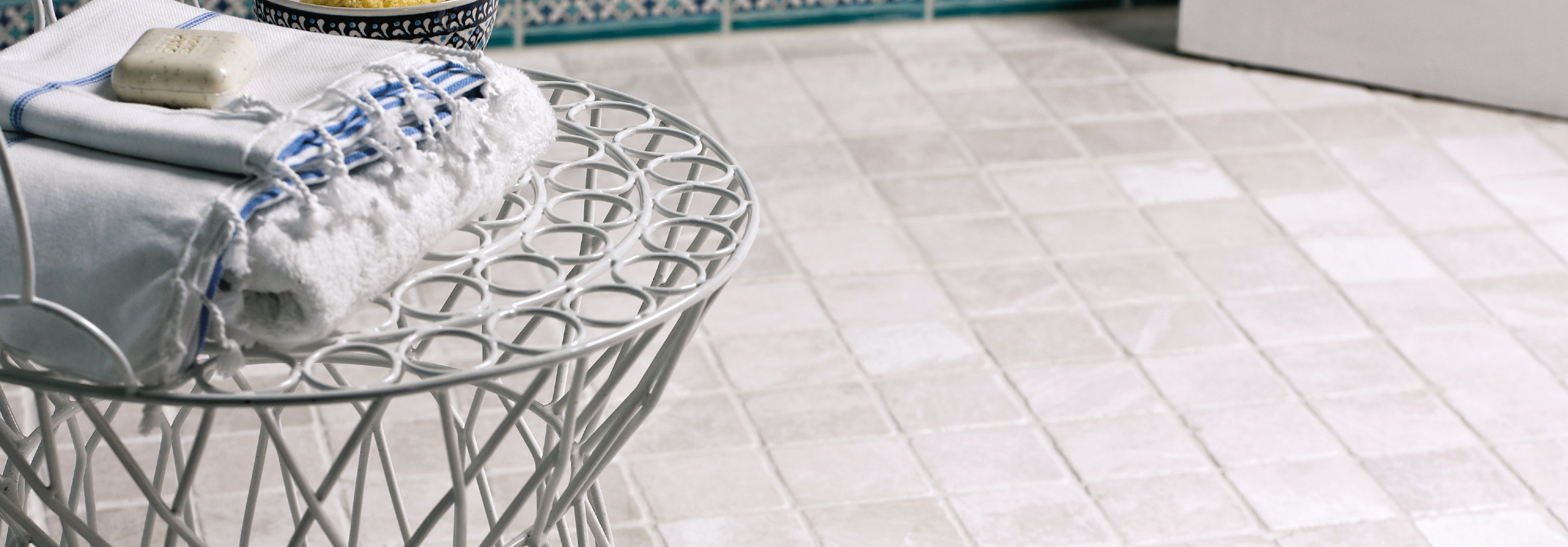 venetian stone collection of limstone mosaics from fired earth