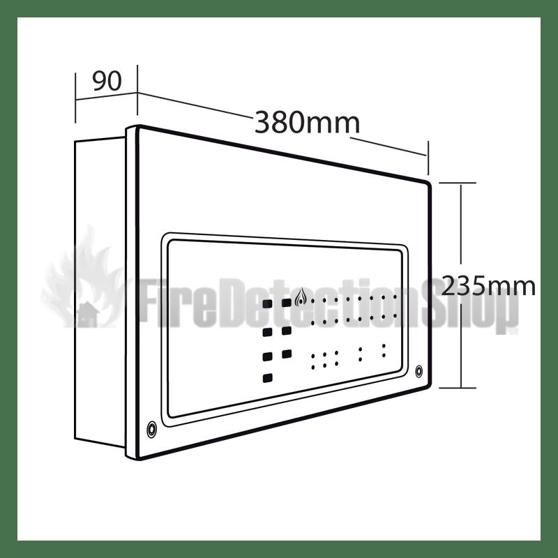 C-Tec XFP501E/X 16 Zone Single Loop Addressable Fire Alarm