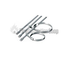 Stainless Steel Fire Cable Ties(pk100)