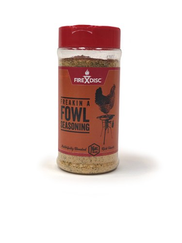 FIREDISC fowl seasoning