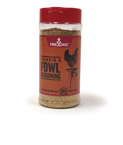 FIREDISC fowl seasoning