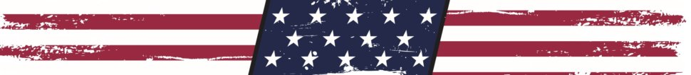 American Flag Heat Ring Sticker
