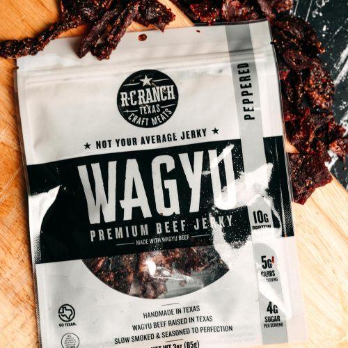 Wagyu Beef Jerky Peppered