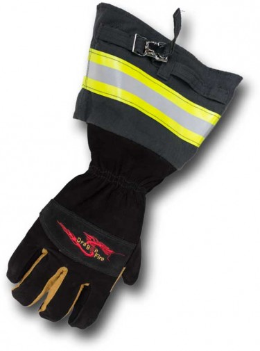 Alpha X Texan Glove  Dragon Fire  Fire Fighter Gloves