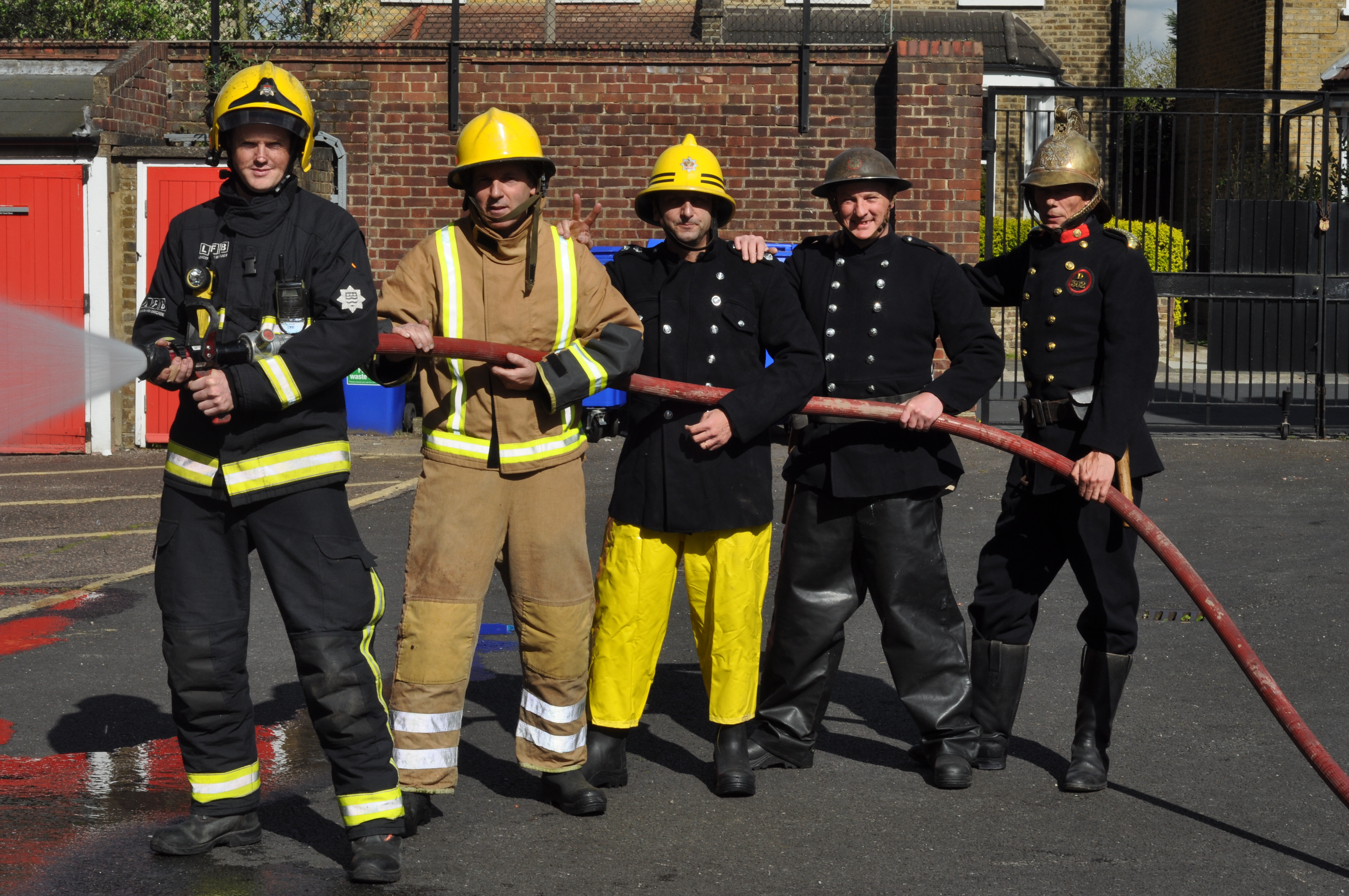Image result for image of a british fireman