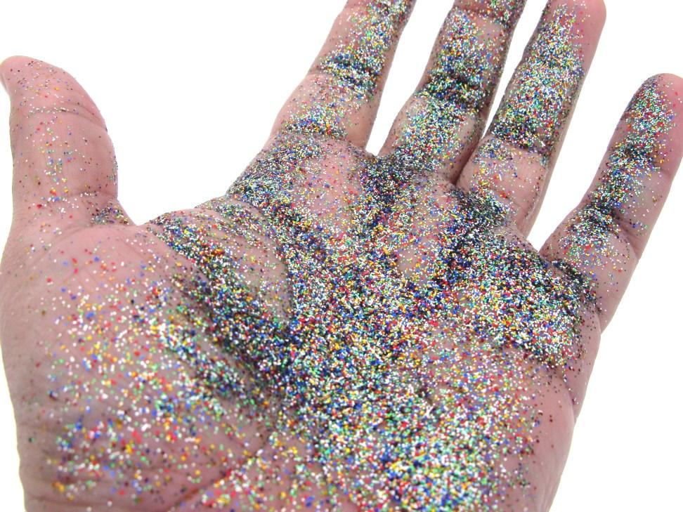 Glitter for pranks
