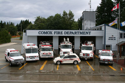 DEPARTMENT PROFILE Comox Fire Rescue  Fire Fighting in