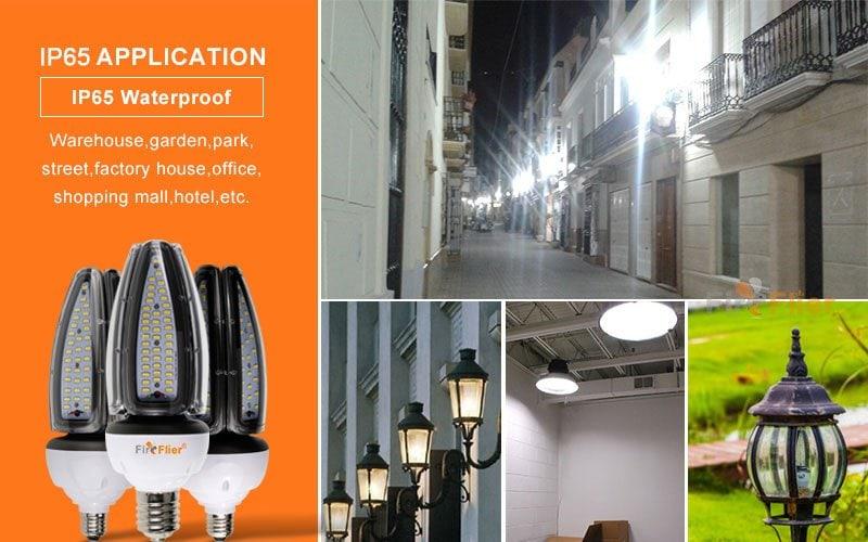 Application of IP65 LED Corn Bulb
