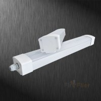 4FT LED Vapor Tight Fixture | Fireflier Lighting Limited