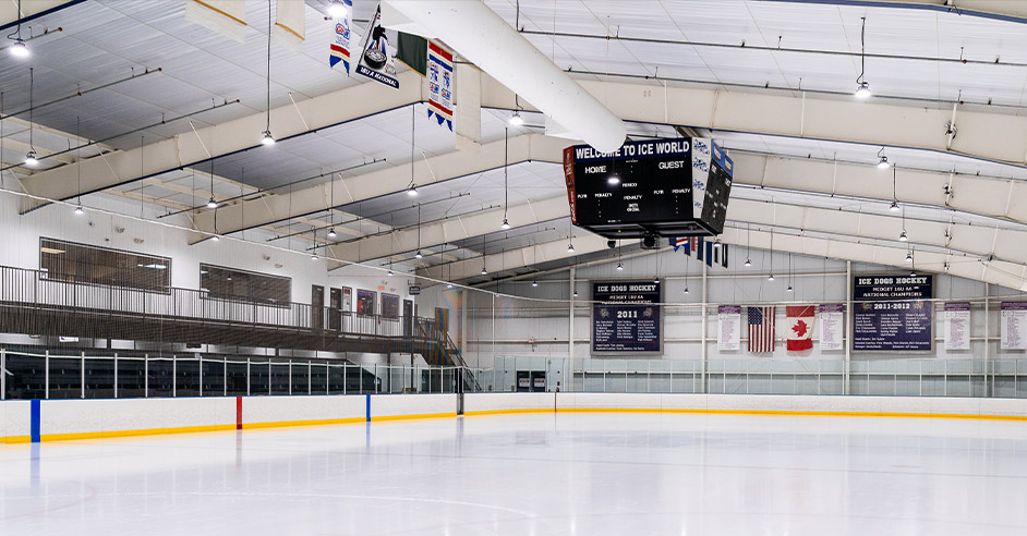 UFO LED high bay light for sport facilities