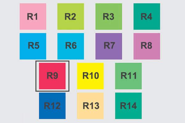 LED R9 Value